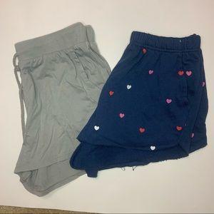 NWT women's 2 Set of pijamas shorts- Size M